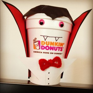 Dunkin Donuts Halloween Instagram competition