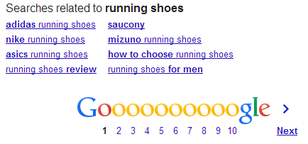 Google Related Search Suggestions