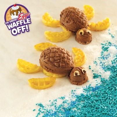 Eggo Waffle Off