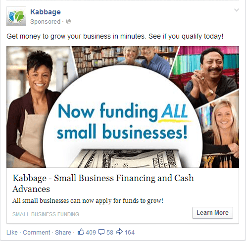 Facebook Ad Call to Action