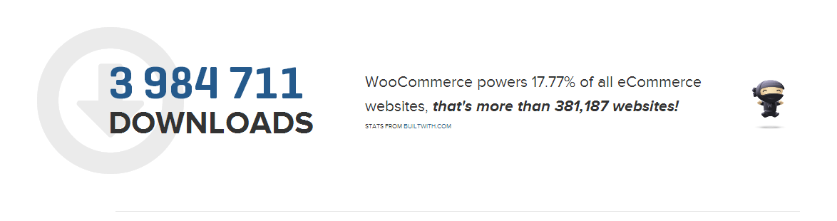 Counting customers on website