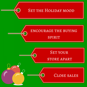 Holiday season sales funnel
