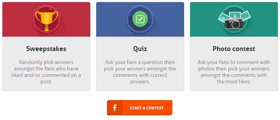 AgoraPulse free facebook timeline competitions