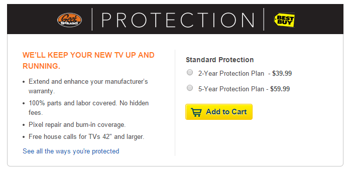 Best buy warranty