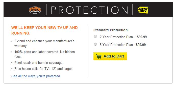 Best buy warranty