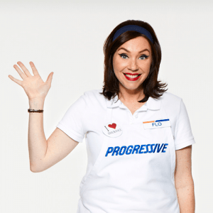 Flo progressive girl