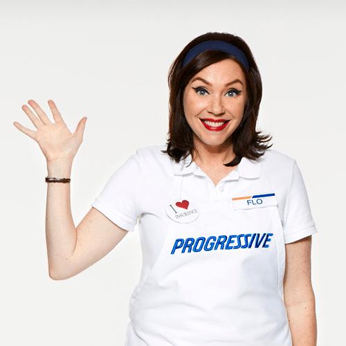 Flo from progressive girl