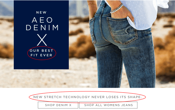 American eagle value proposition