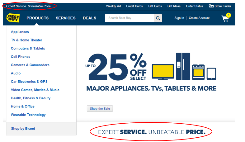 Best Buy Value Proposition