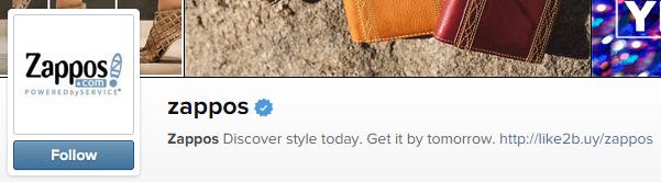 Instagram bio line business