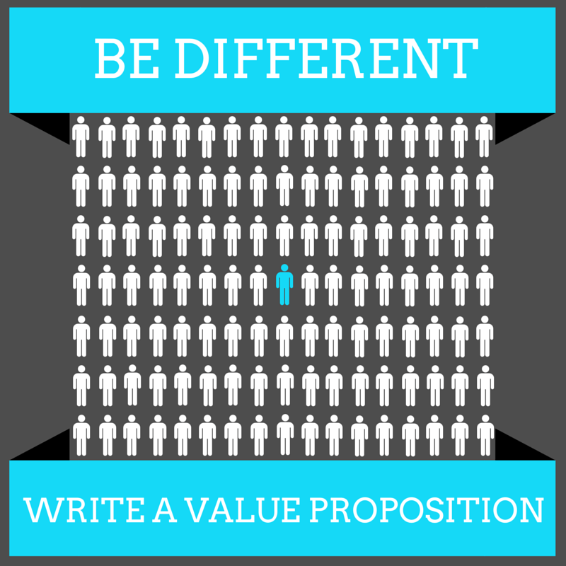 be different  value proposition template and examples