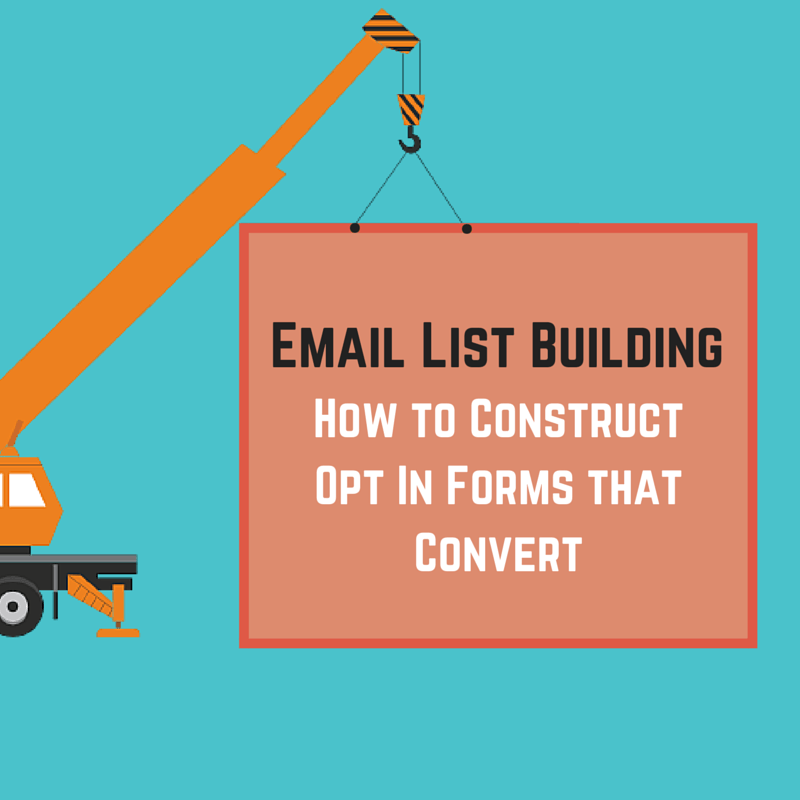 how to create an opt in email list
