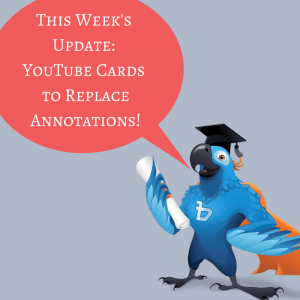 YouTube Card Update