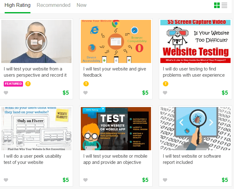 site reviews on fiverr