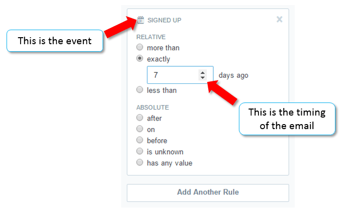 how to create segments for emails