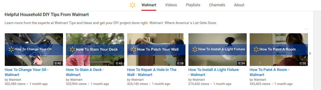 Youtube how to products