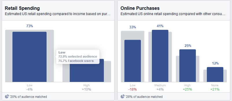 audience insights finances