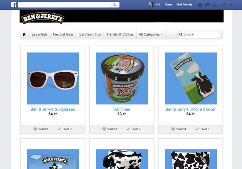 Storeya Facebook shop