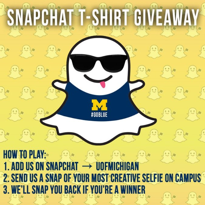 UMichigan-Snapchat