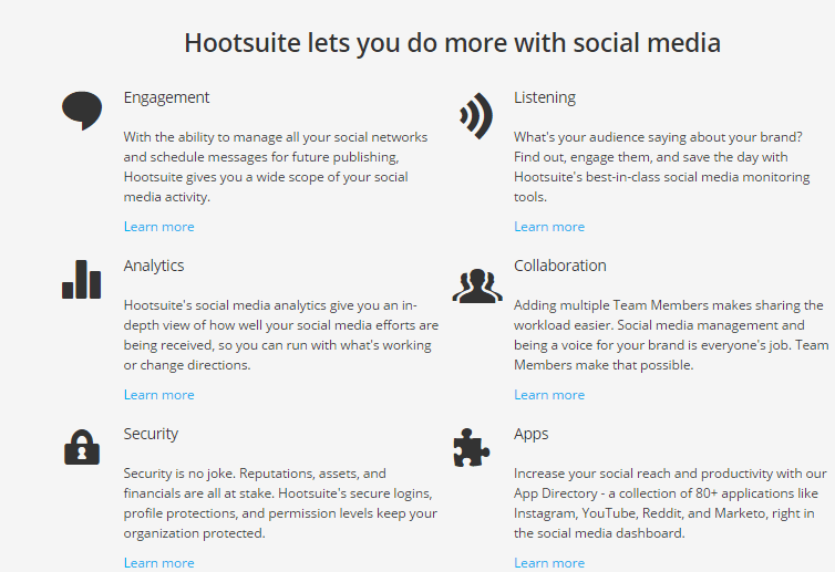 Hootsuite is a top Twitter tool