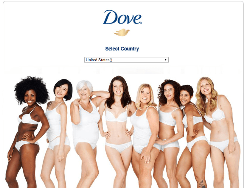 Dove's branding is all about using emotion to grow their business
