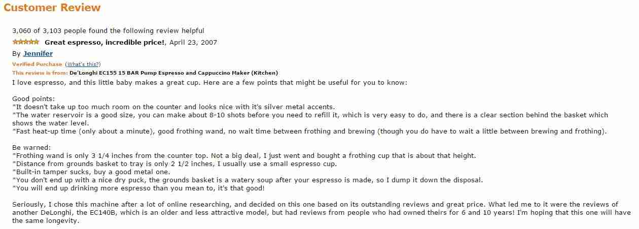 Amazon SEO customer reviews
