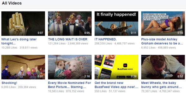 Successful Facebook video marketing starts with thumbnail