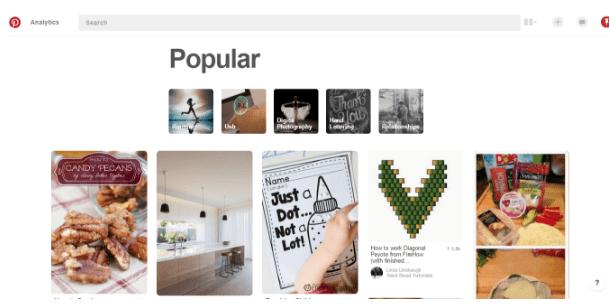 Pinterest popular