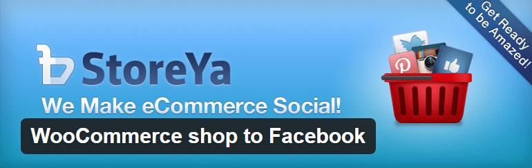 StoreYa 6: WooCommerce shop to Facebook WP Plugin