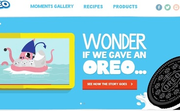 Display Ad example by Oreo