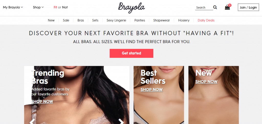 Example of leading eCommerce store