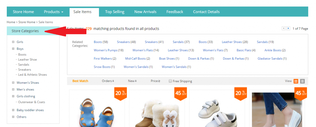 AliExpress Categories