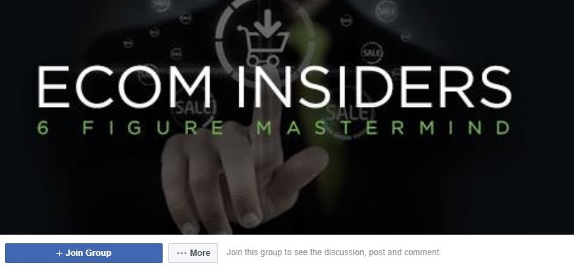 ecom insiders facebook group for online sellers 1
