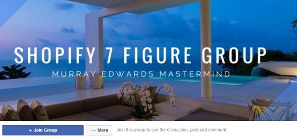 shopify 7 figure facebook group 222