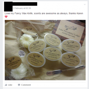Lake Providence Lodge scented wax melts