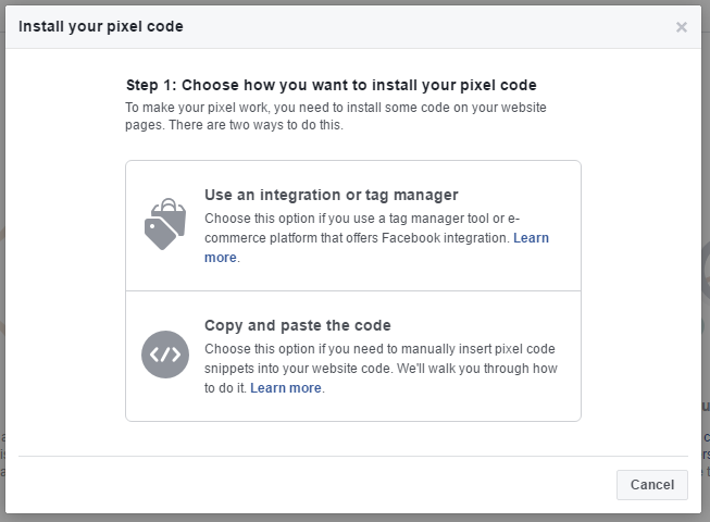 how to use Facebook Pixels