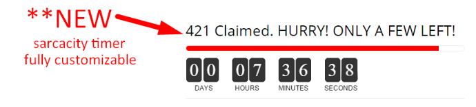 Hurrify Countdown Timer