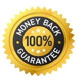 eCommerce 100% money back guarantee trust badge