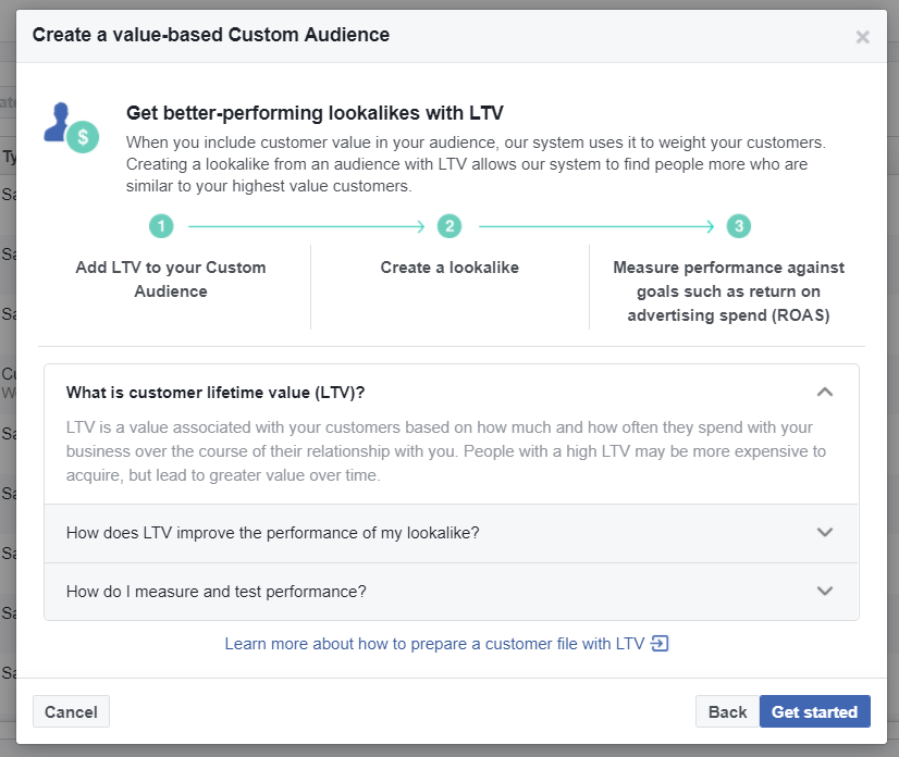 How to set up FB look alike audiences