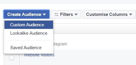 how to set up remarketing campaign on Facebook