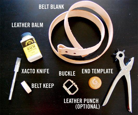 making belts tutorial