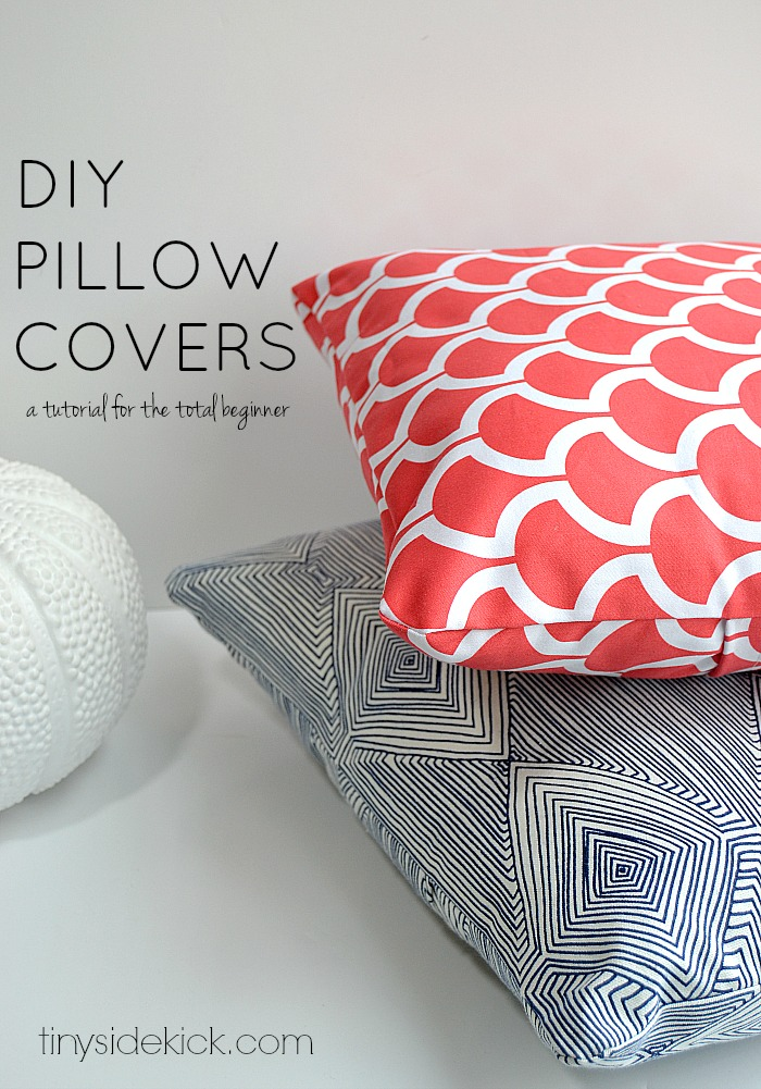 DIY pillow covers how-to