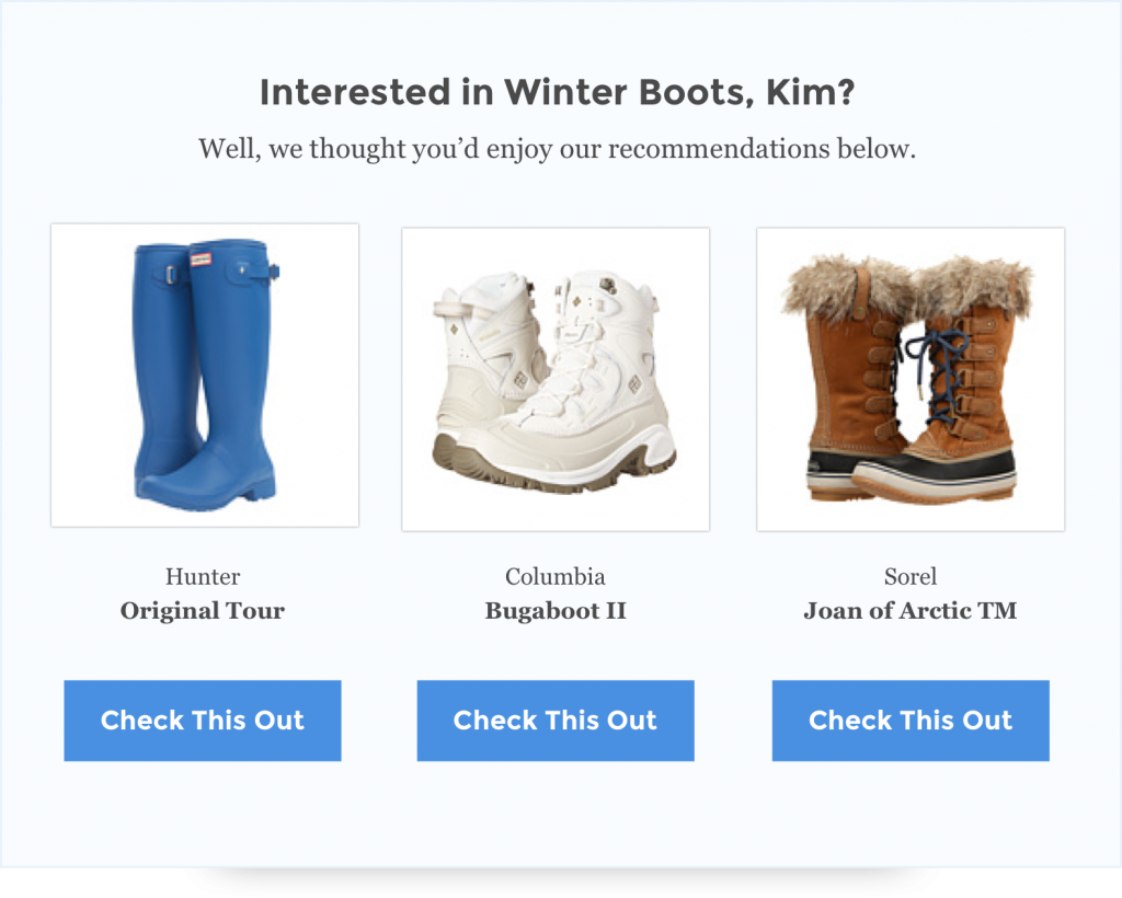 upselling examples for ecommerce