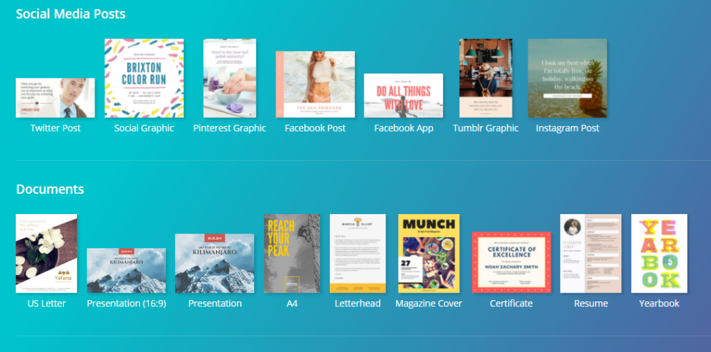 Free eCommerce design tool canva