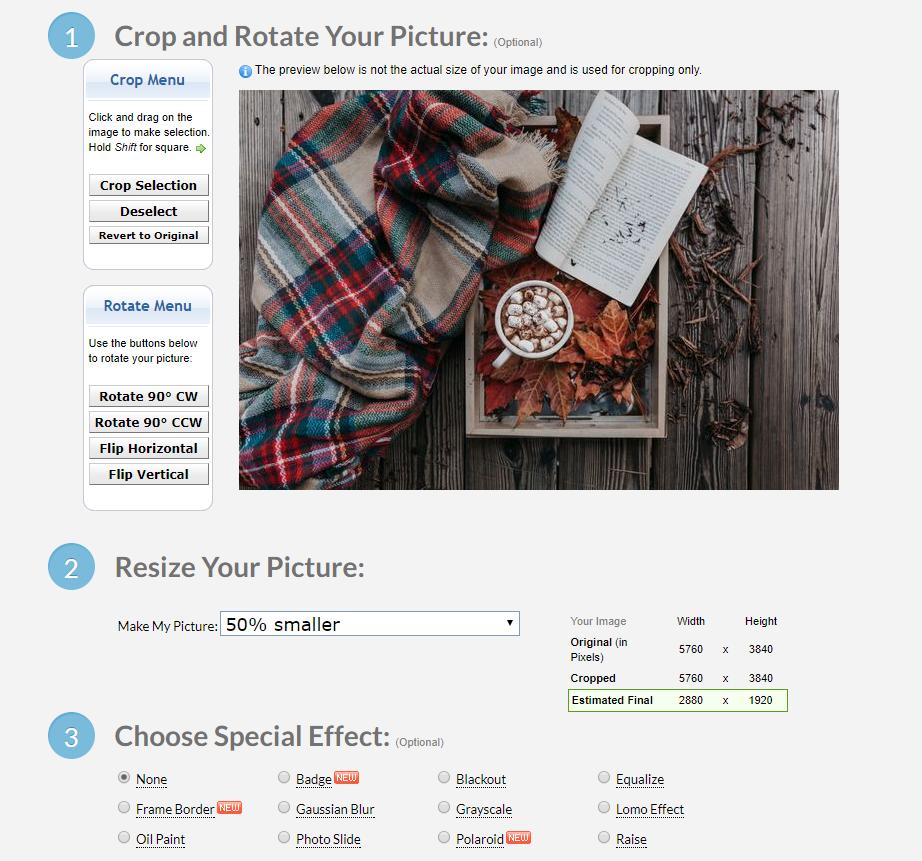free image resizing tool for ecommerce sites