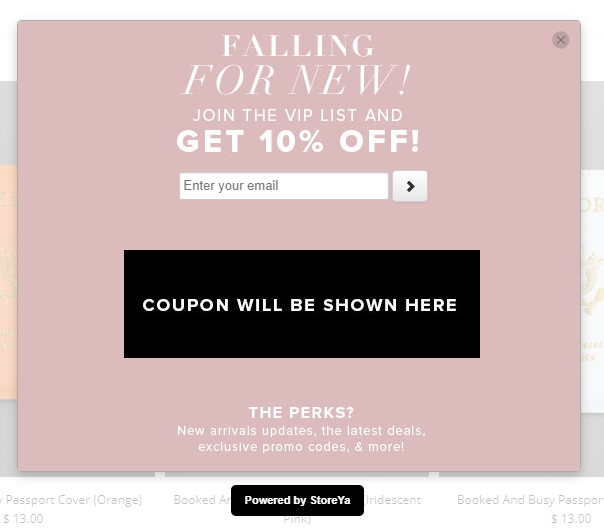 good ways to capture emails for ecommerce business