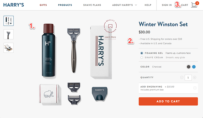 good eCommerce store examples