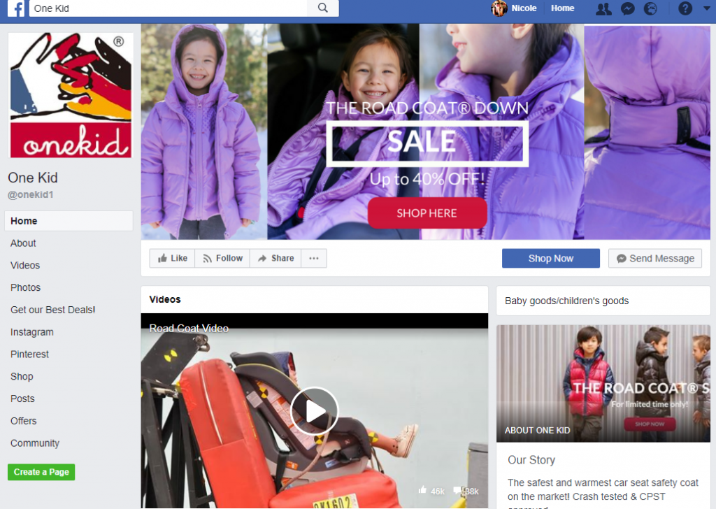 example of promotional Facebook covers