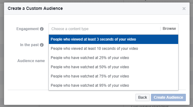 Custom Audience for Video 5