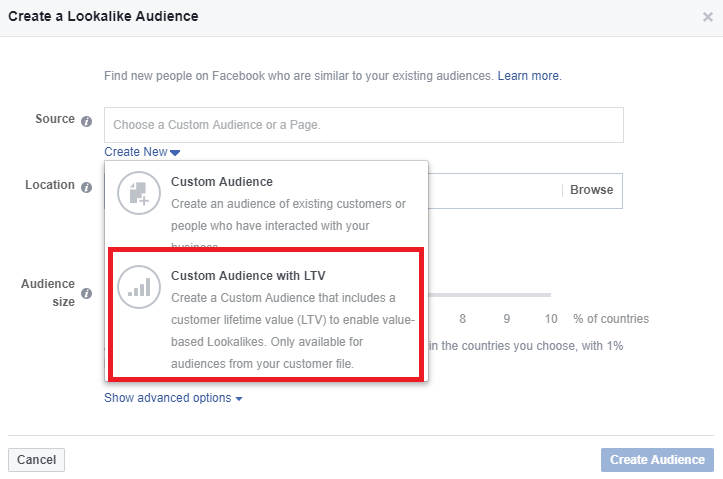 How to Create a Facebook Value-Based Lookalike Audience